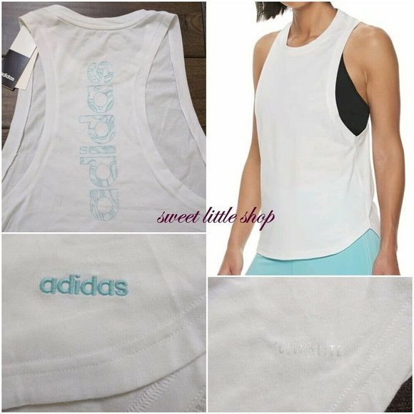 Adidas Parley For the Oceans Tank Top Embroidered